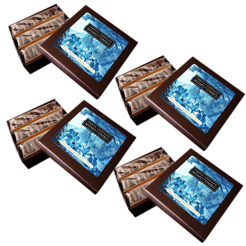 Momotombo-4 Cajas de Bombones de Chocolate Negro-Chia,Lino ...