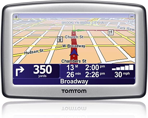 "TomTom ONE XL Portable Car 4.3/"" LCD GPS System USA//Canada navigator receiver Set"