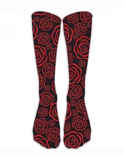 44dc871cb7441 Amazon.com: SARA NELL Vintage Floral Romantic Red Rose Classics ...