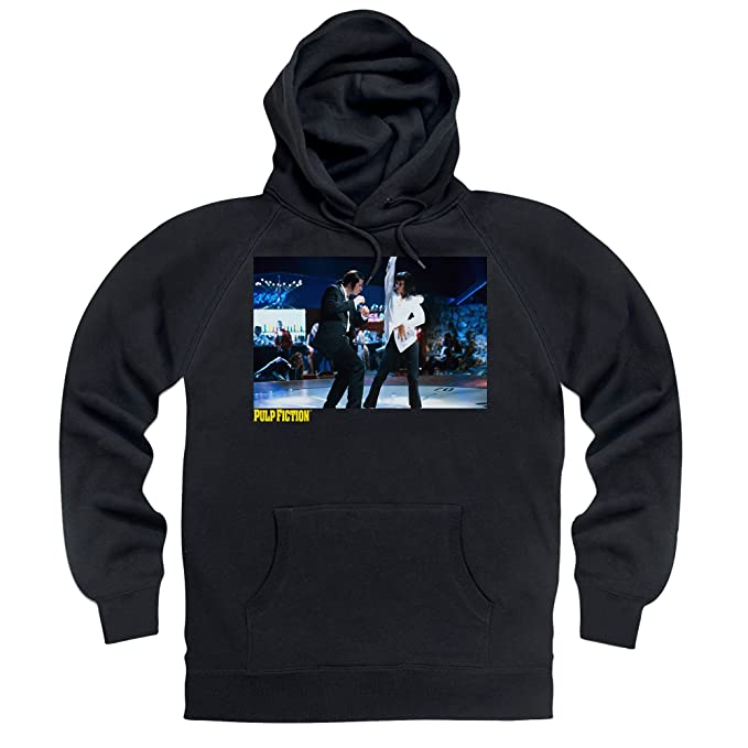 Official Pulp Fiction - Jack Rabbit Dancing Sudadera con Capucha, para Hombre: Amazon.es: Ropa y accesorios
