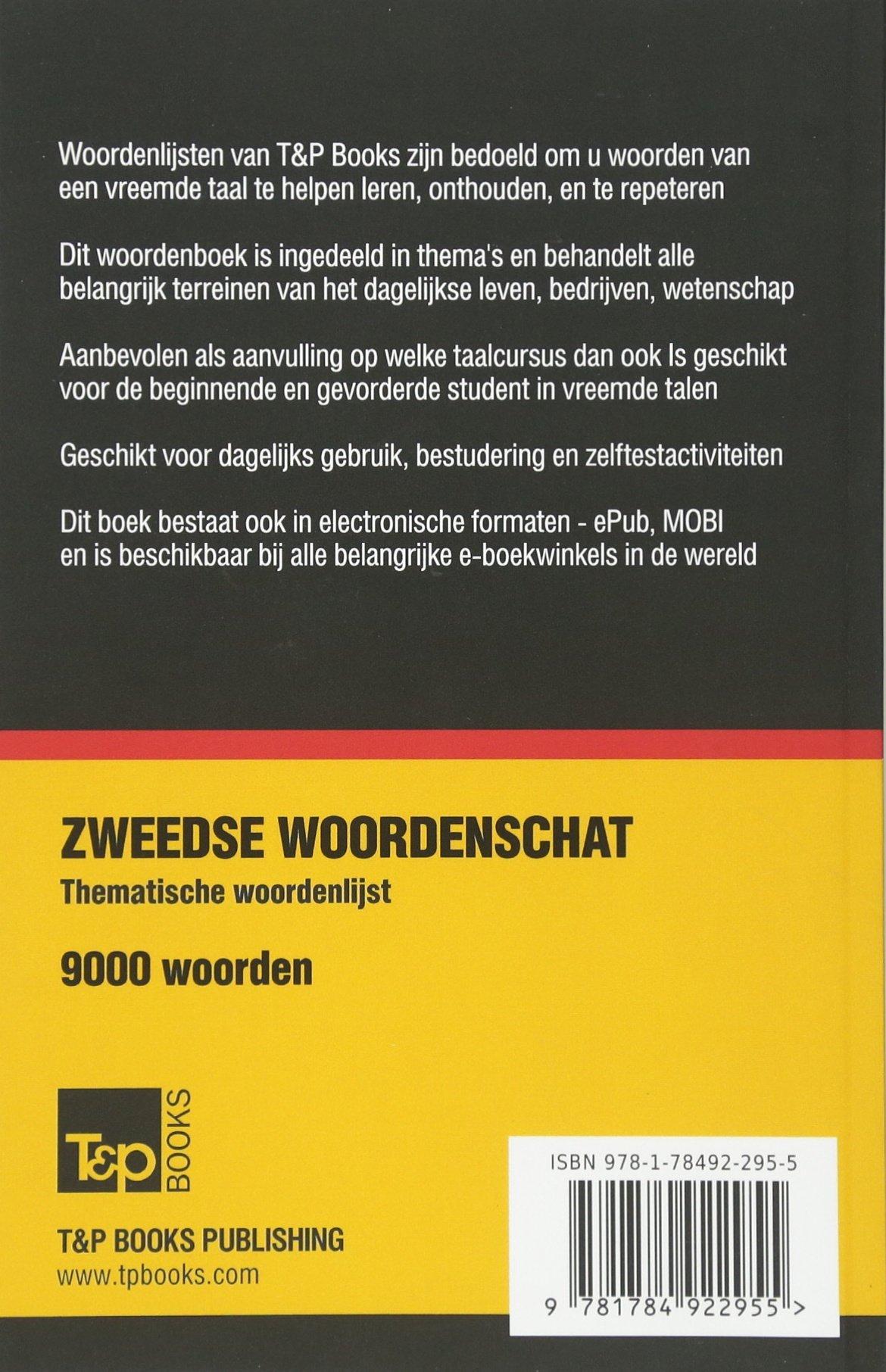 Amazon.com: Thematische woordenschat Nederlands-Zweeds ...