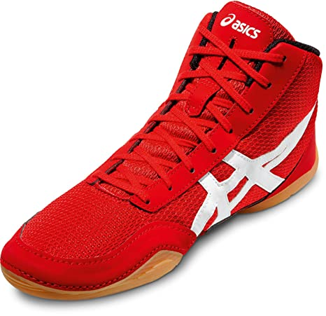 quality design 4b3ec 50a21 Asics boxeo y lucha libre zapatos Matflex 5, rojo   blanco, 42 EU