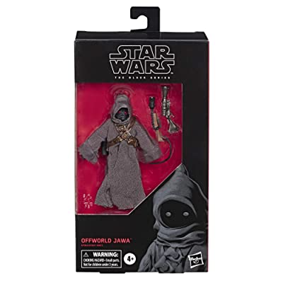 "Star Wars The Black Series Offworld Jawa Toy 6"" Scale The Mandalorian Collectible Action Figure, Toys for Kids Ages 4 & Up: Toys & Games"