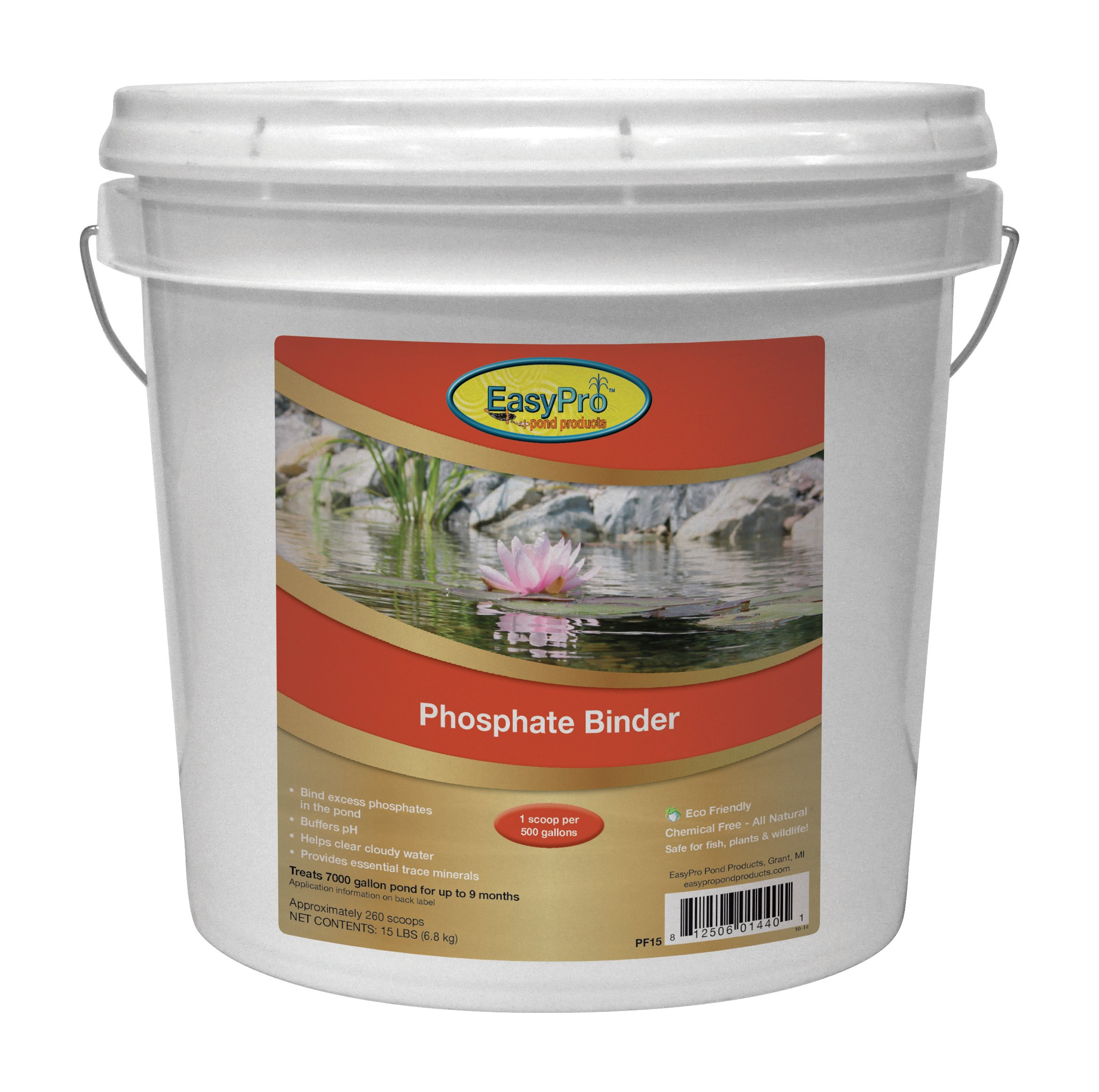EasyPro Products PF15 All Natural Phosphate Binder by EasyPro Pond Products