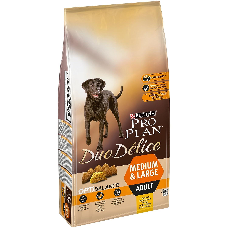 PRO PLAN DUO DELICE - Riche en Poulet - 10 KG - Croquettes pour chien adulte Purina Pro Plan 12208102_cpk