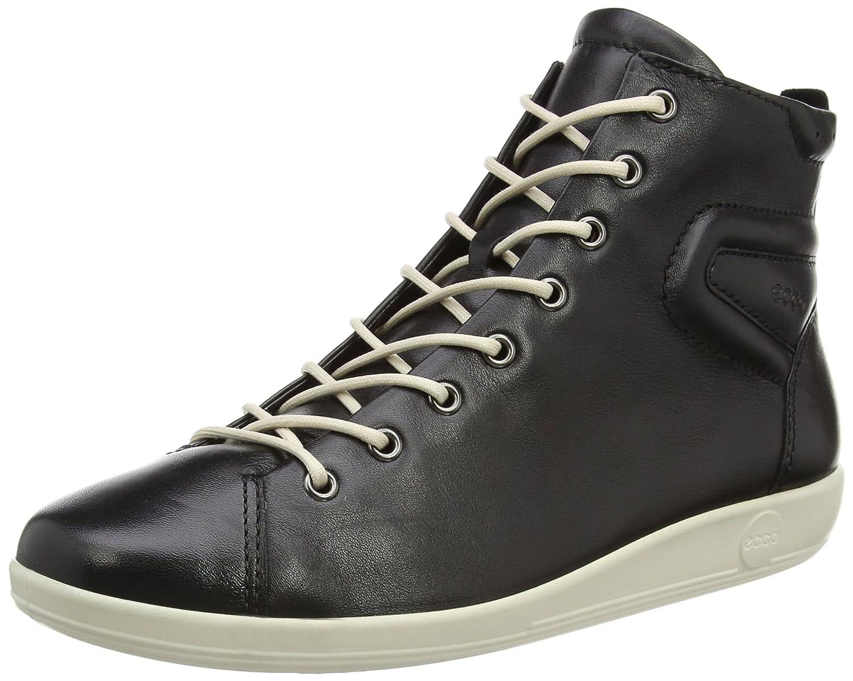 f5450255b Ecco ECCO Soft 2.0 - Zapatillas Deportivas Altas de Cuero Mujer  Amazon.es   Zapatos y complementos