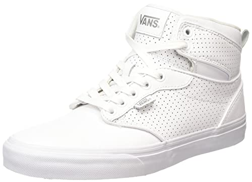 bc33964330 Vans Men s Atwood Hi (Perf Leather) White White Skate Shoe 10.5 Men US   Amazon.ca  Shoes   Handbags