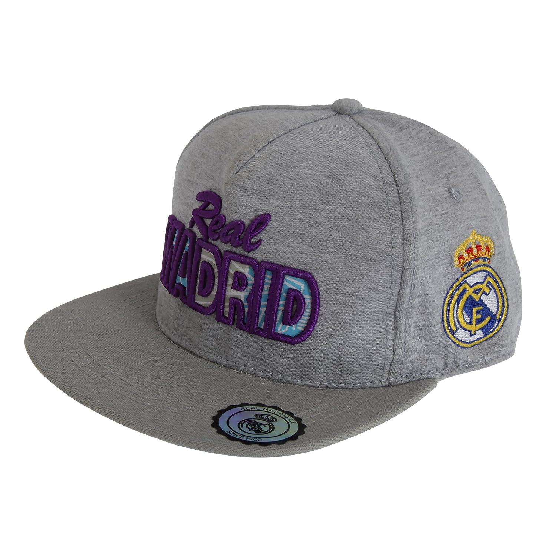 Real Madrid CF Official - Gorra de béisbol clásica con Texto ...