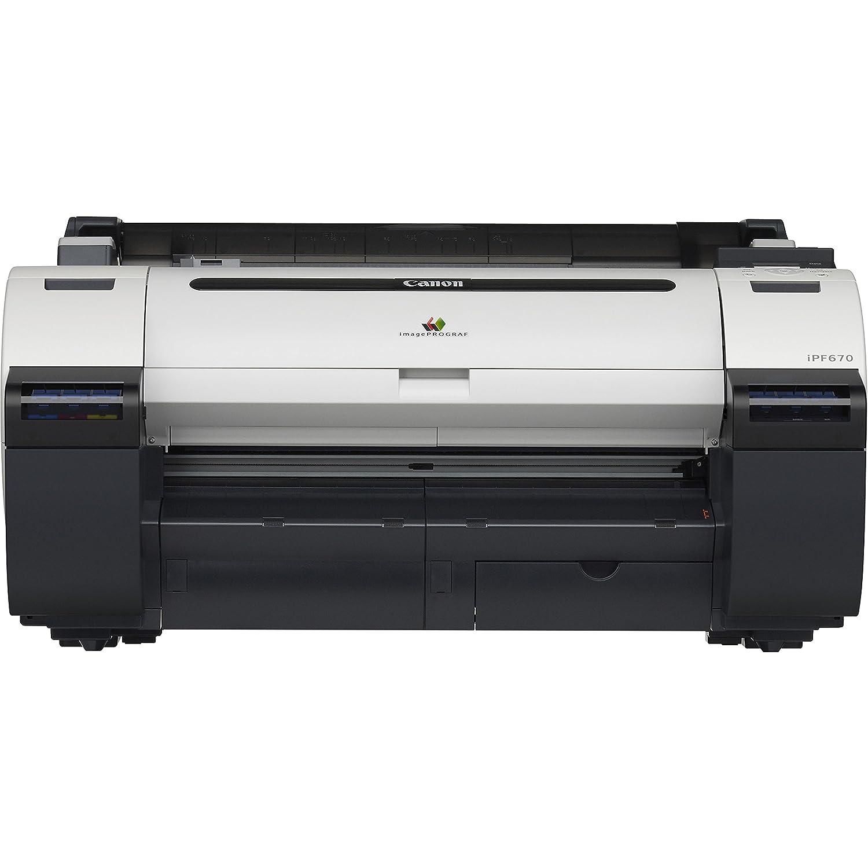 "Amazon.com: Canon imagePROGRAF iPF670 24"" Large Format Printer - without  Stand: Electronics"