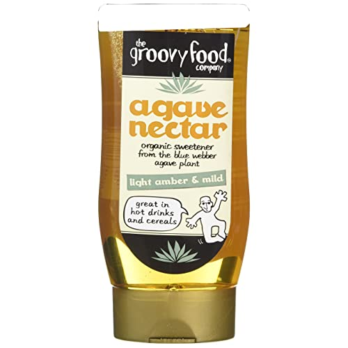 Groovy Food Premium Agave Nectar Mild 250 ml (Pack of 3)