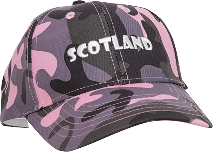 Scotland Gorra/Visera Mujer/Chica Bordado diseño Camuflaje ...
