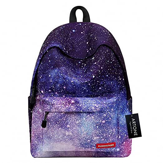 5f210949d4 Artone Universe Galaxy Padded Daypack with Laptop Compartment Fit 14 quot   ...