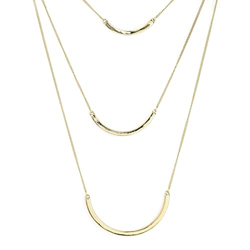 6d461a776c5bc6 United Elegance Designer Contemporary Collection 4 - Stylish Gold, Silver Tone  Necklaces with/Without Faux Pearls, White Marble, Jade, Agglomerated Stone  & ...