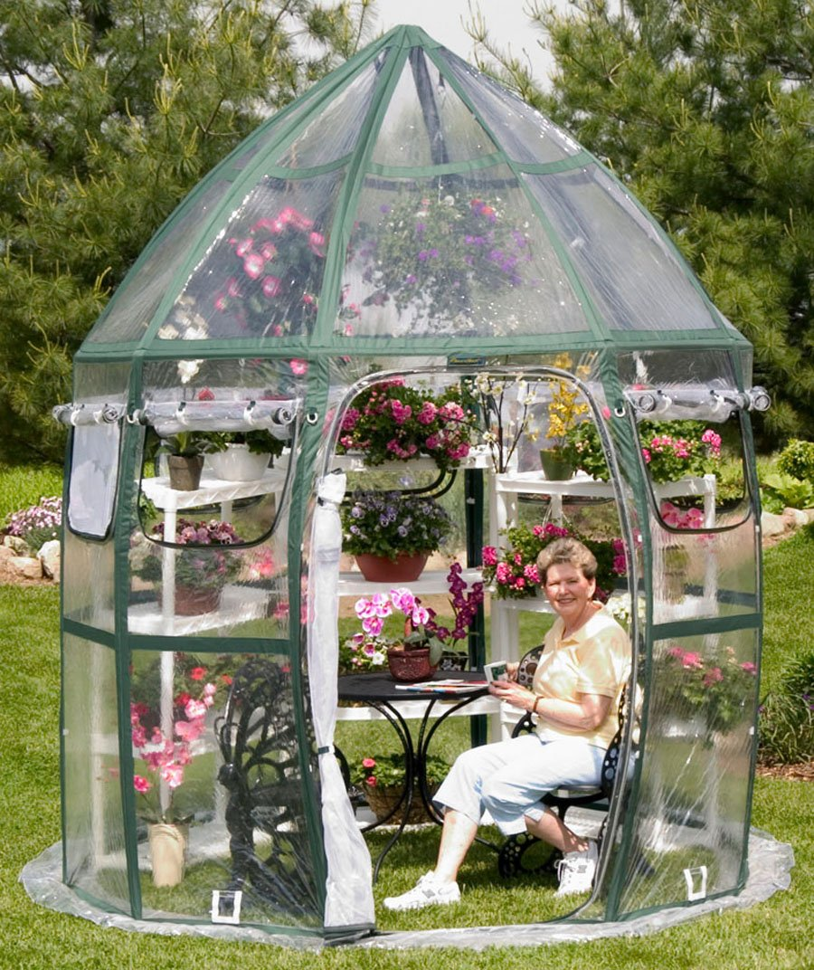 Flower House FHCV900 Conservatory Greenhouse, Clear