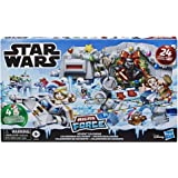 Star Wars Micro Force Advent Calendar Holiday Display with 24 Collectible Surprise Mini Figures and 7, Kids Ages 4 and…