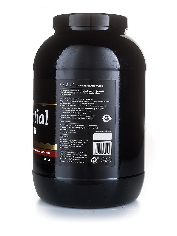 Crown Sport Nutrition Sequential Protein, Suplemento de proteína para antes de dormir para Deportistas, Sabor de Fresa - 918 gr: Amazon.es: Salud y cuidado ...