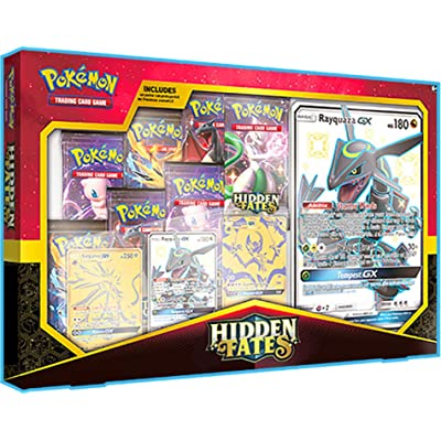 Pokemon TCG: Hidden Fates Premium Powers Collection | 7 Hidden Fates Booster Packs: Toys & Games