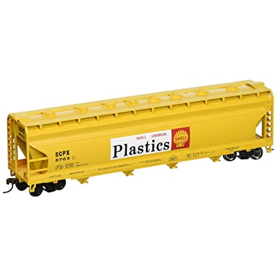 Bachmann Trains - 56' ACF Center Flow Hopper - Shell - HO Scale: Toys & Games