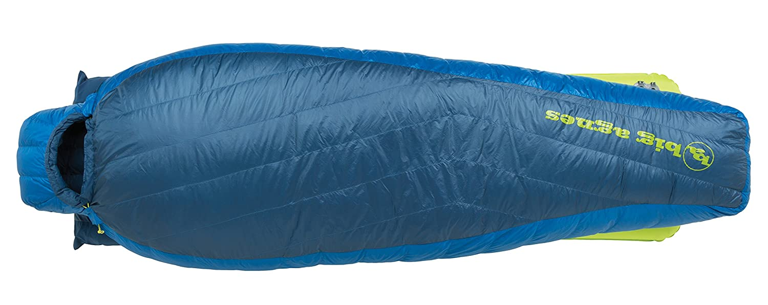 Big Agnes – Skeeter SL 20 Sleeping Bag with 650 Downtek塗りつぶし、ロング長、左ジッパー B01IOU1ZRO