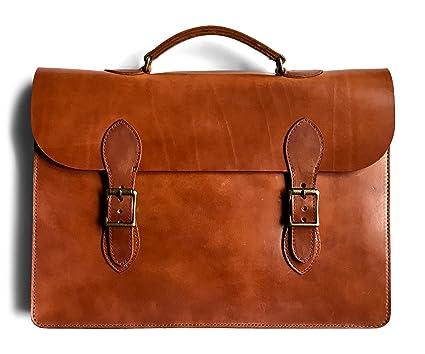 749fa7750c4b Jackson Wayne Vintage Leather Attache Laptop Case