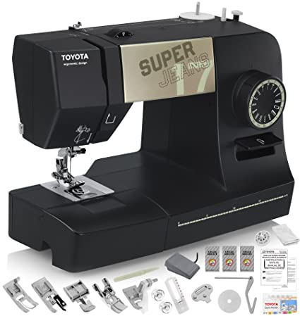 Amazon TOYOTA Super Jeans J40XL Sewing Machine Glides Over 40 Gorgeous How To Take In Jeans Without A Sewing Machine