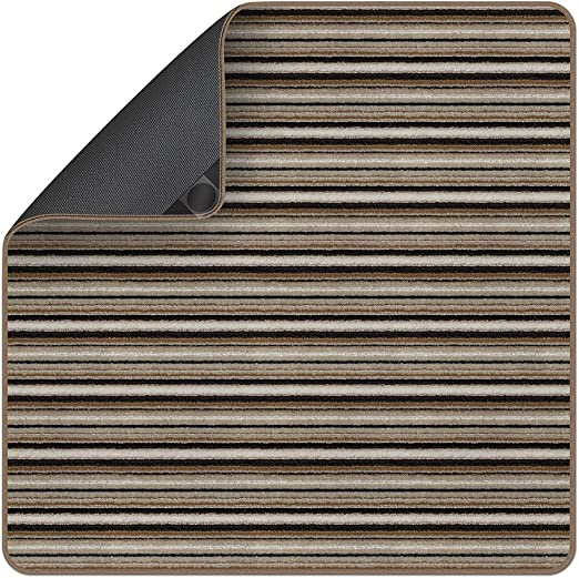 Gray - Many Other Sizes to Choose from x 5 Ft 3 Ft Attachable Rug for Stair Landings