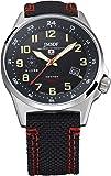 [ケンテックス] 腕時計 JSDF STANDARD ソーラー 海上自衛隊モデル ミリタリー S715M-03 ブラック