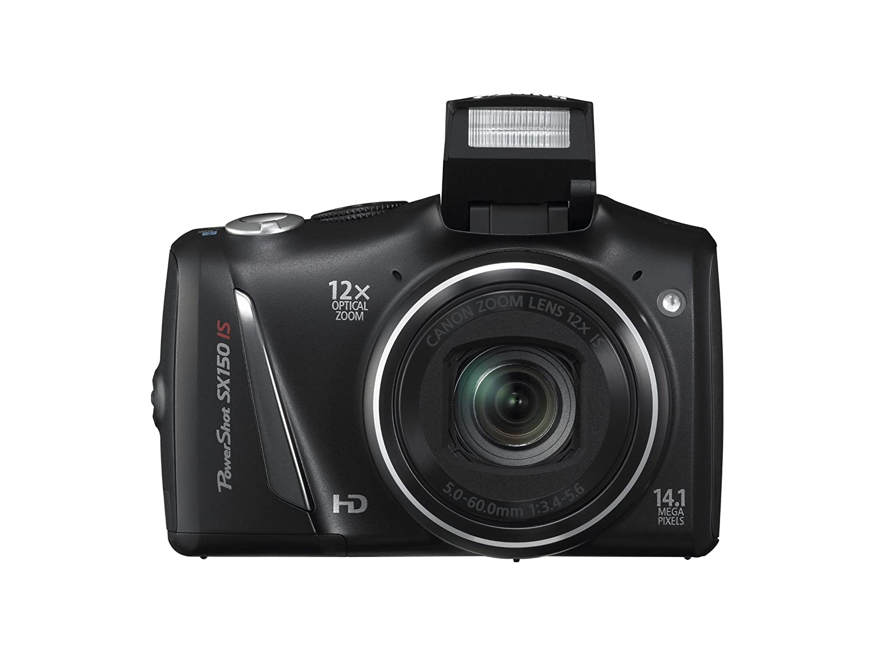 amazon com canon powershot sx150 is 14 1 mp digital camera with rh amazon com Canon PowerShot SX150 Is Troubleshoot Canon PowerShot SX150 Is Battery