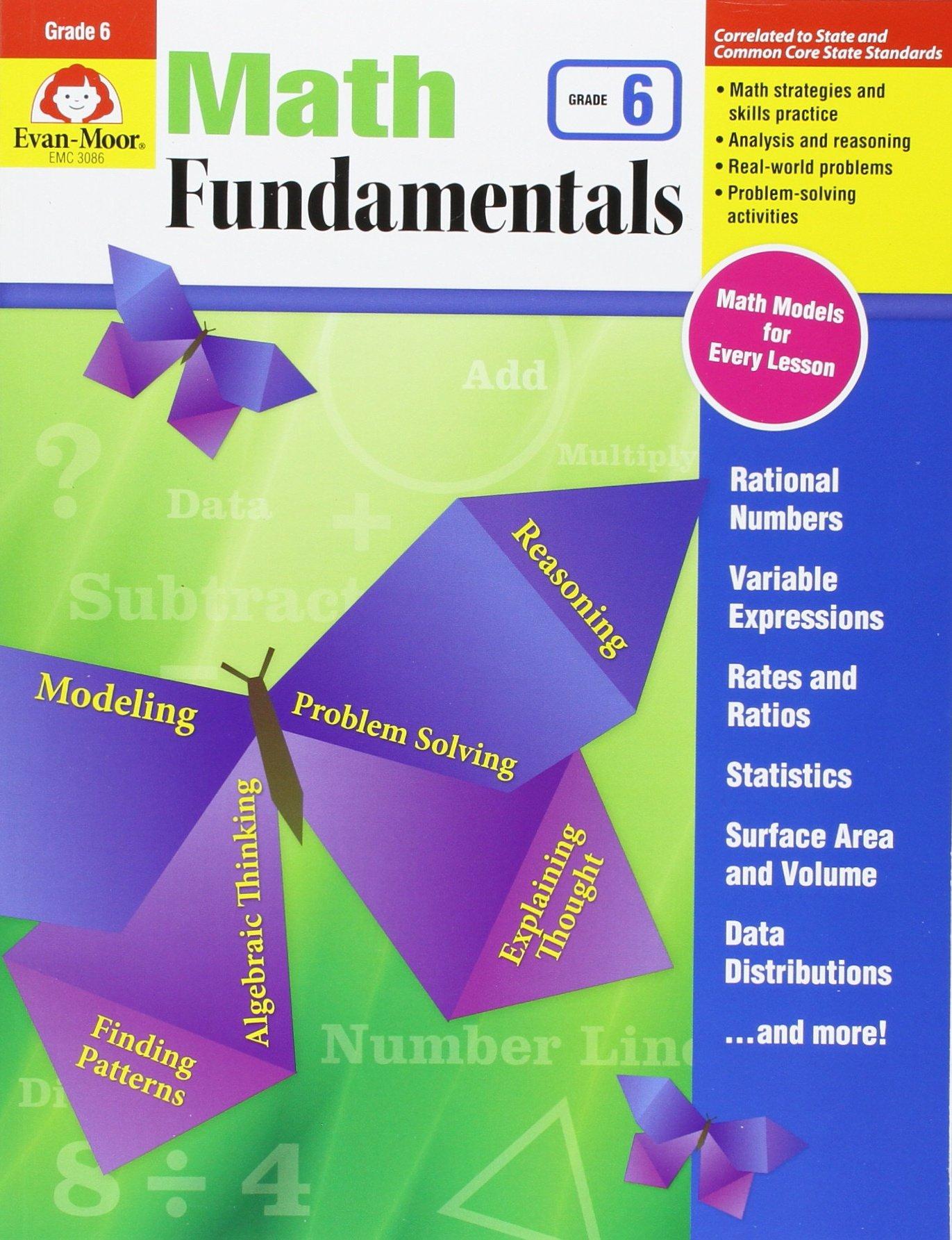 Download Math Fundamentals, Grade 6 pdf epub