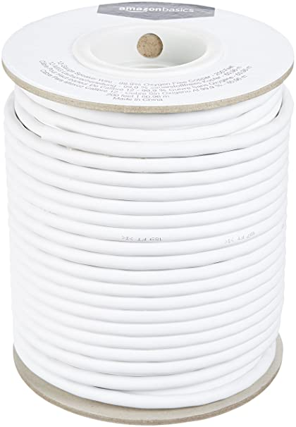Amazon.com: AmazonBasics 12-Gauge Speaker Wire - 99.9% Oxygen Free ...