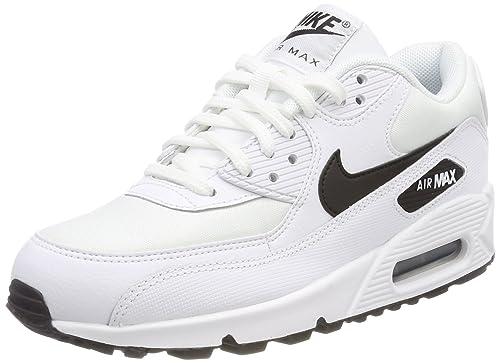 Air Max 90, Zapatillas de Gimnasia Para Mujer, Blanco (White/Black 131), 43 EU Nike