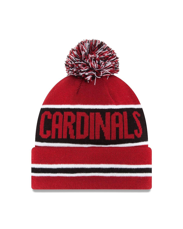 850212545ff Amazon.com   NFL Arizona Cardinals The Coach Knit Hat   Sports Fan Beanies    Clothing