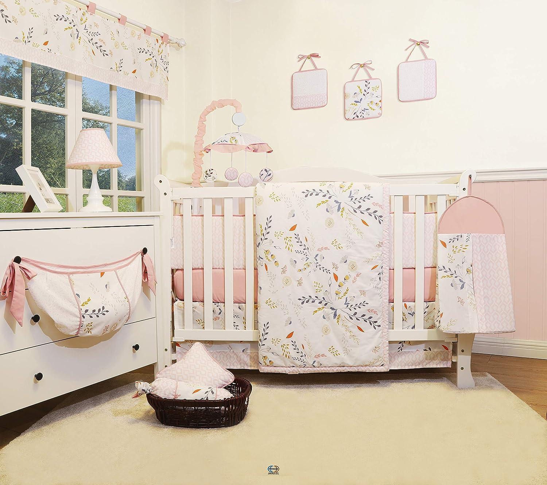 GEENNY 13 Pieces Harvest Season Baby Nursery Crib Bedding Set