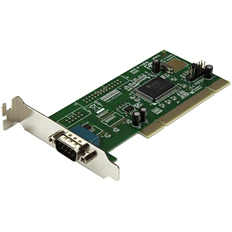 StarTech.com 1 Port PCI Low Profile RS232 Serial Adapter Card with 16550 UART (PCI1S550_LP)