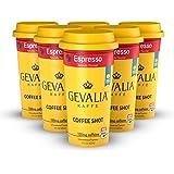 FORTO Gevalia Kaffe Coffee Shot - Espresso, Ready-to-Drink on the go, High Energy Cold Brew Coffee- Fast Coffee Energy Boost,