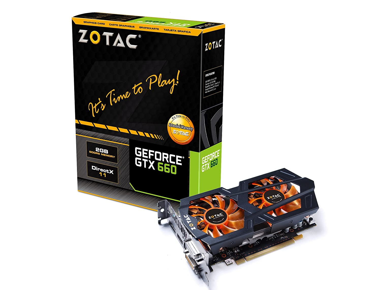 Zotac - Tarjeta gráfica nVIDIA GTX 660 (PCI-E, 1 GPU, 2 GB ...