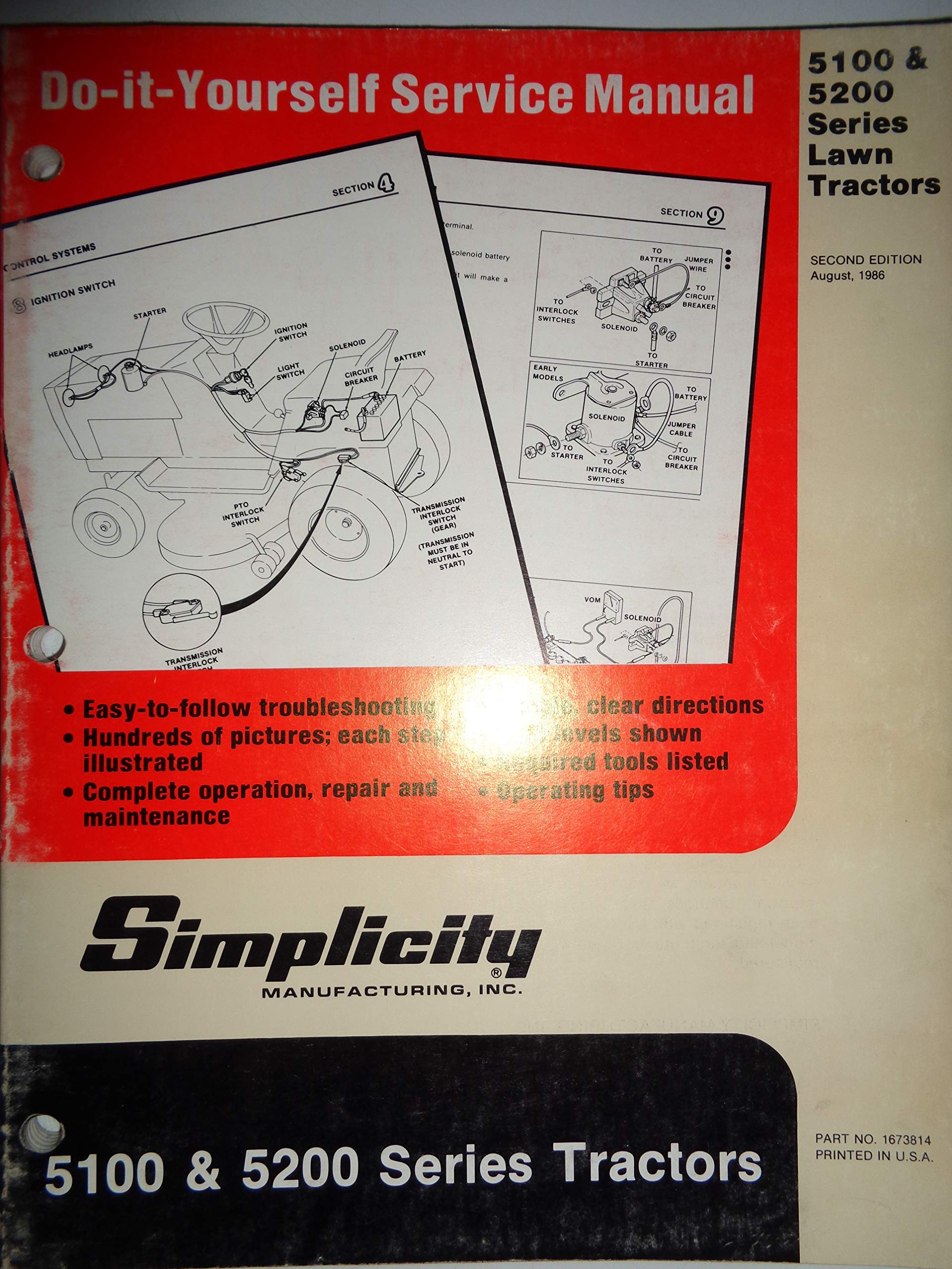Simplicity Mower Wiring Diagram Wiring Diagram For Simplicity