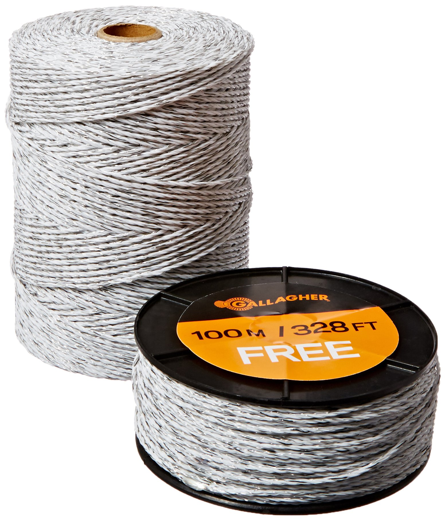 Gallagher G620300 Electric Polywire Fence Combo Roll, 1312-Feet (+ 328' FREE) WHITE