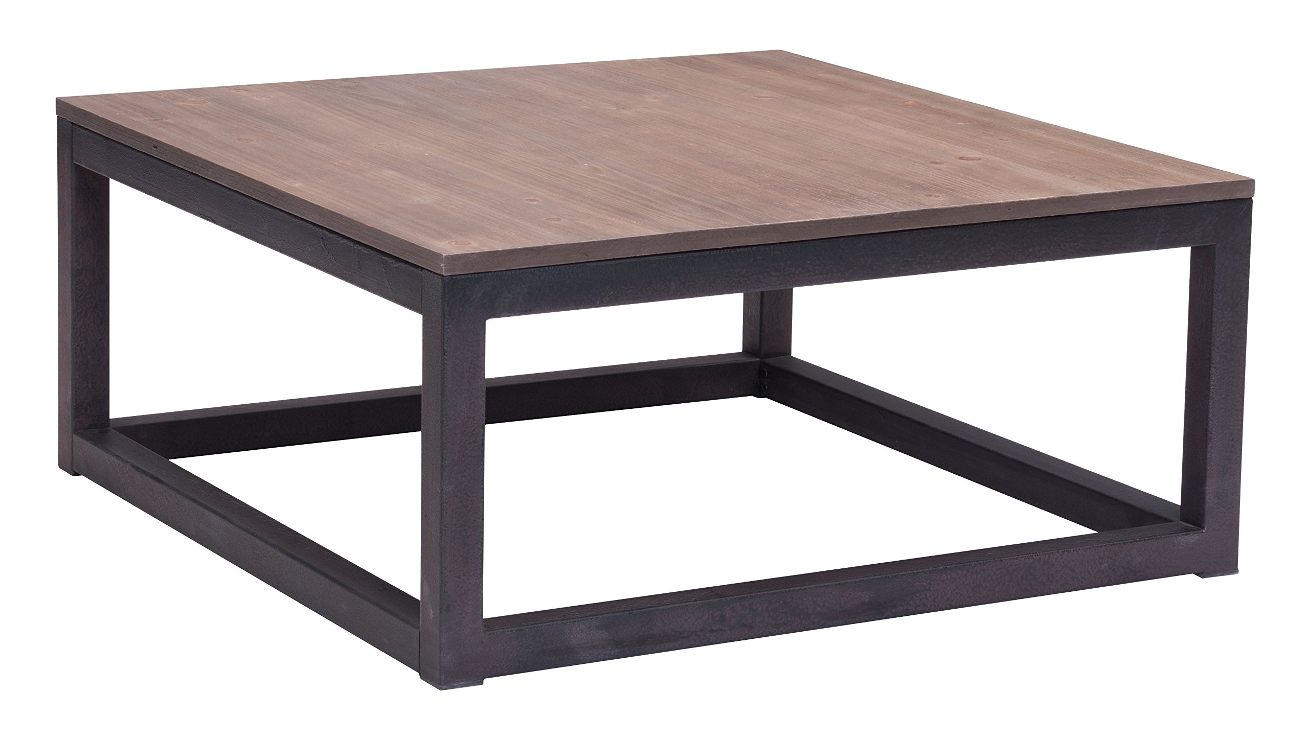 Zuo Civic Center Square Coffee Table - Product Type: square Coffee table Product Finish: metal Year Introduced: 2012 - living-room-furniture, living-room, coffee-tables - 81gBDeZLrzL -