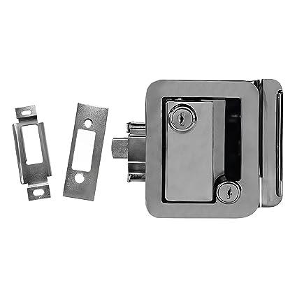 Amazon.com: Chrome RV Paddle Entry Door Handle   RV Paddle Door ...