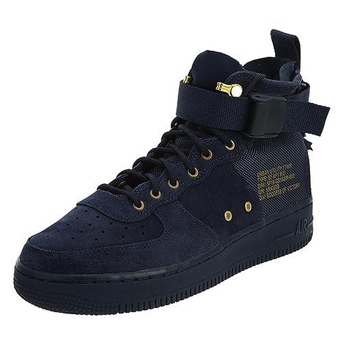 competitive price 31662 1733e Obsidian Nike Kids Shoes Air Af1 Aj0424 Force Blueblack Sf Big Mid OAZqpnO