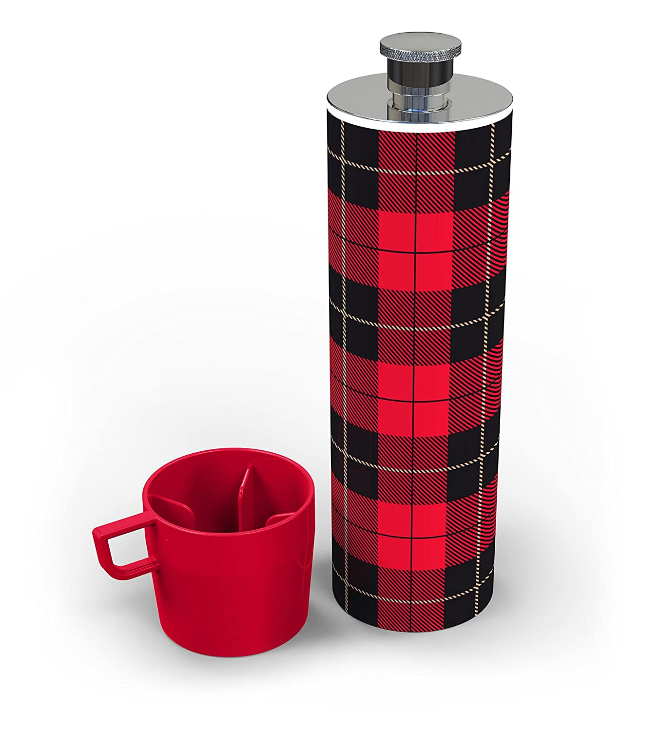 Red//Black Fred PICNIP Drinks Flask