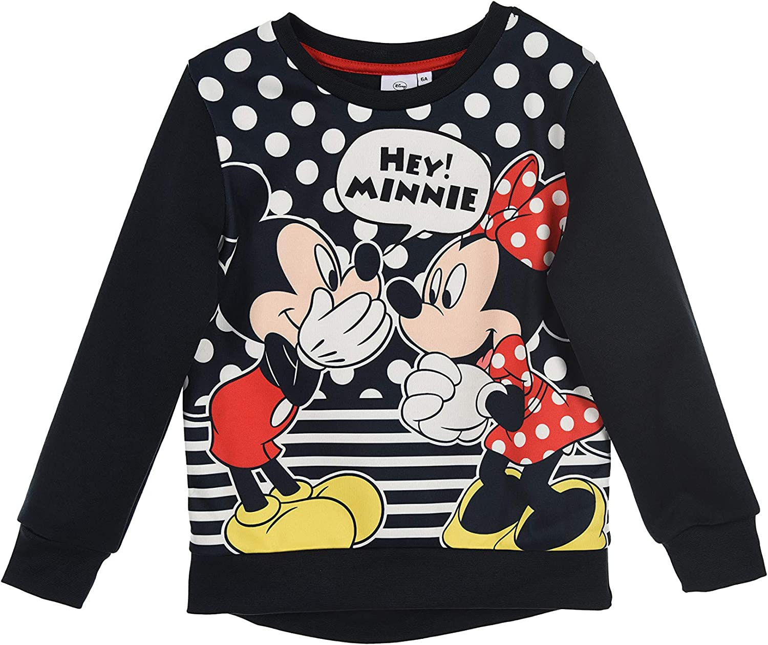 2PCS Kid Baby Girl Micky Minnie Mouse Sweatshirt Top Pants Tracksuit Outfits Set