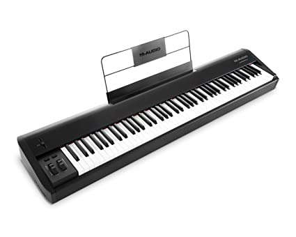 M-Audio Hammer 88 - Teclado controlador USB/MIDI profesional con 88 teclas de
