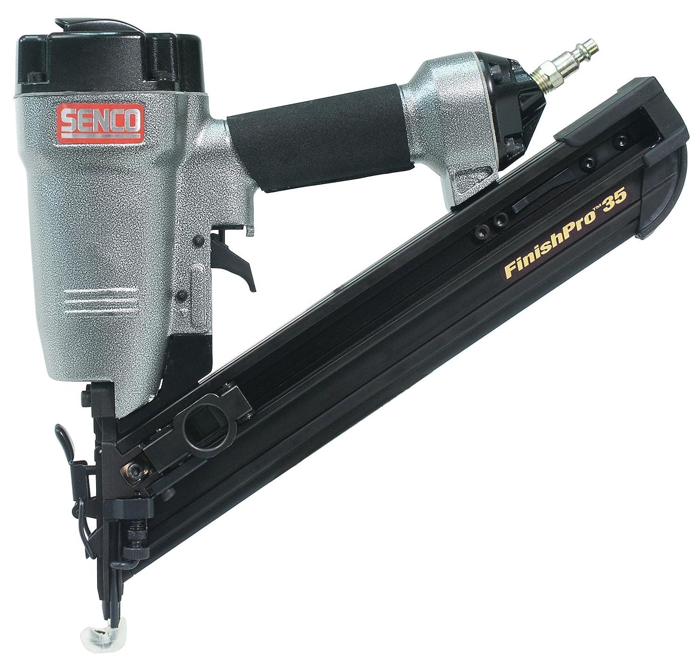 Senco FinishPro35 15-Gauge Finish Nailer, Sequential, w/Case - Power ...
