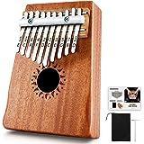 Donner DKL-10 10 Teclas Kalimba / Thumb Piano / Piano de pulgar Cuerpo de Caoba