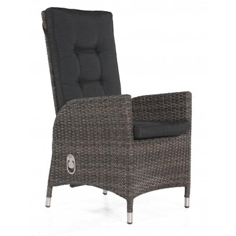 Sonnenpartner Sunny Smart Sessel Para vintage-grau inkl. Kissen verstellbar 80050331
