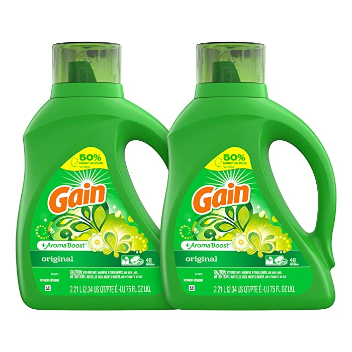 Top 10 Gain Laundry Detergent With Oxi Boost