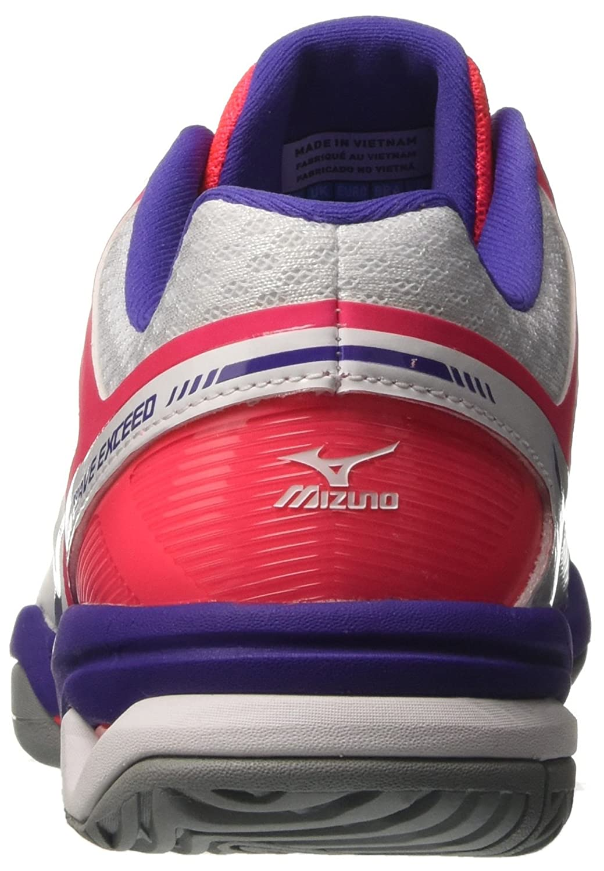 Mizuno Damen Wave Exceed Ac 67) (W) Tennisschuhe Mehrfarbig (Weiß/Liberty/Divapink 67) Ac 242e9c