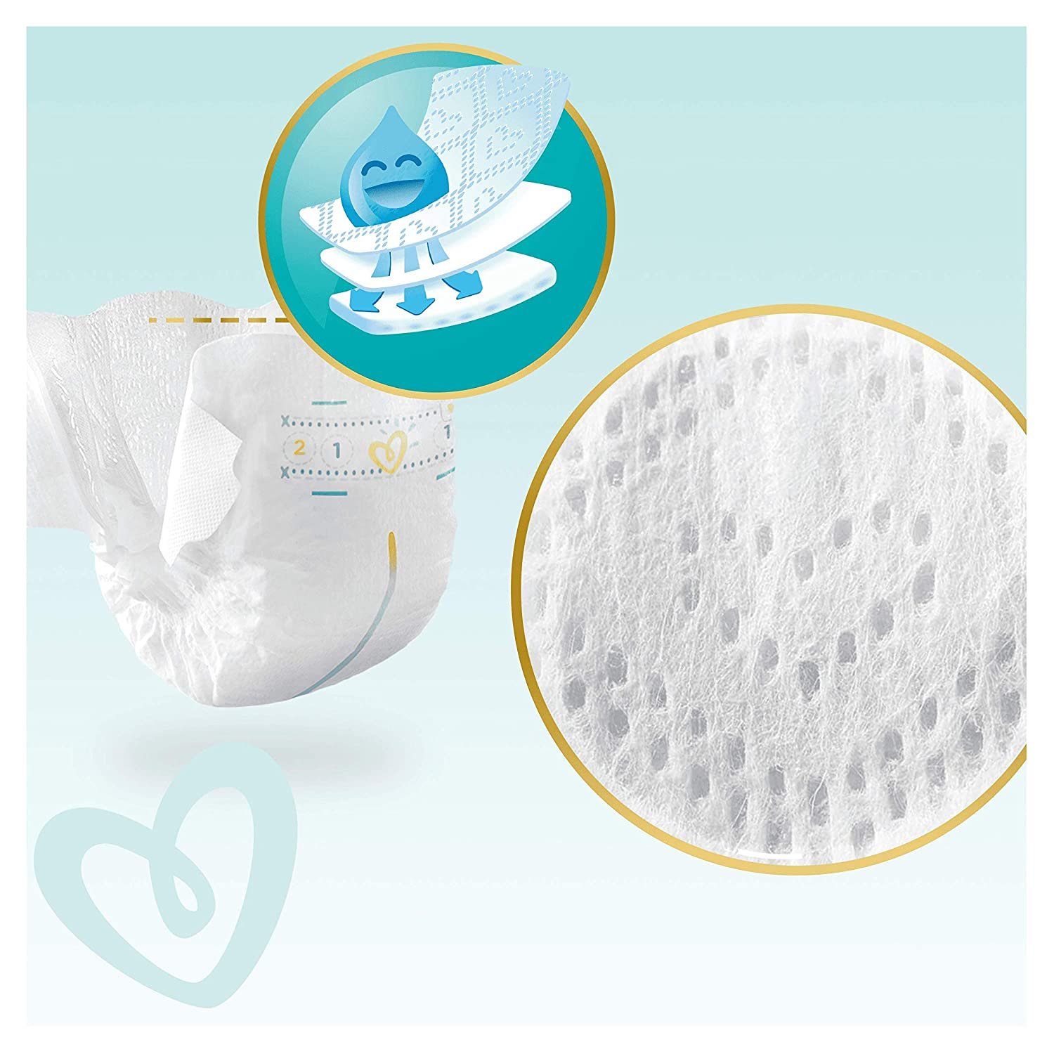 2 Pampers Premium Protection New Baby Gr/ö/ße/ 1 5/ kg 96/ Windeln